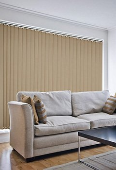 Sale Hessian Vertical Blind