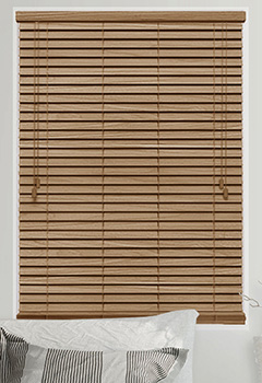 Brown Tawny Wooden blinds