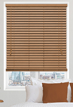 Cypress Oak Wooden Blind