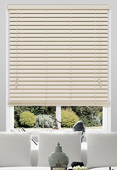 Mirren Cream Wooden Blind