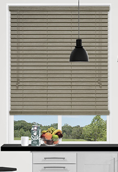 Urban Spec Natural Wooden Blind