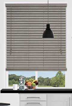 Urban Spec Silver Wooden Blind