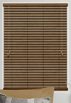 Caramel Faux Wooden Blind