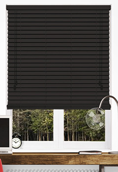 Ranch Brown Wooden Blind