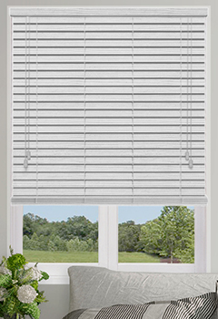 Native Off White Wooden Blind