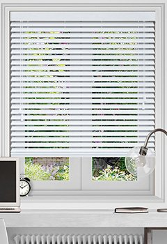 Glaze Pure Wooden Blind