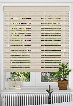 Calico Faux Wooden Blind