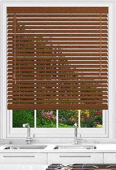 Native Old Oak Wooden Blind