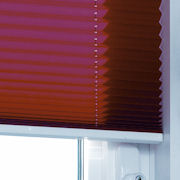 Custom Made Pleated blinds