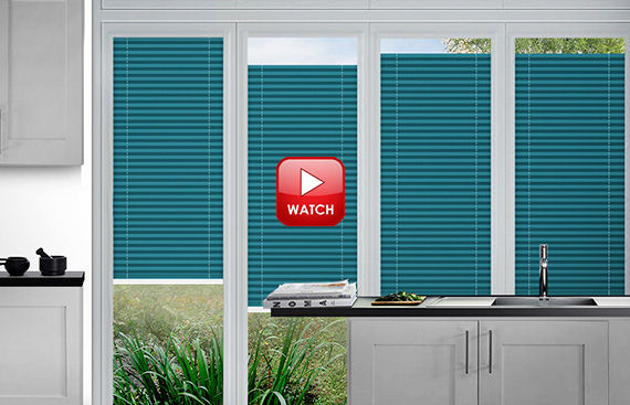 How to Measure for Perfect Fit Pleated Blinds