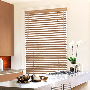 New Sensation Faux Wood Blinds