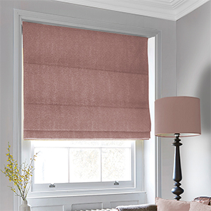 Plum Purple Roman Blind