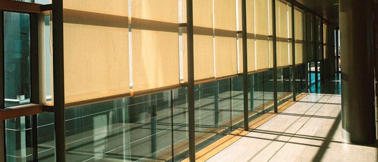 office roller blinds made to measure office roller blinds