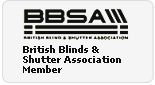 British Blinds & Shutter Association Member